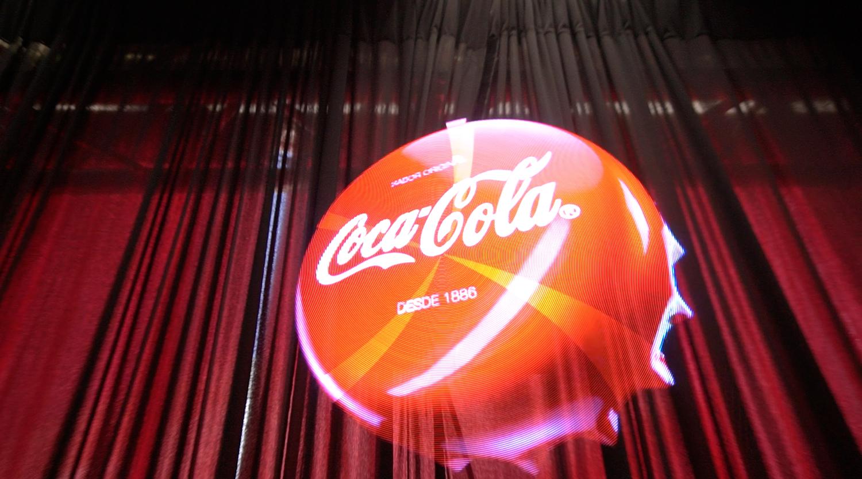 Chapa Coca-Cola 3D